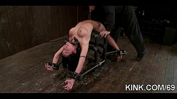 a punishment gay table bound spanking to outdoor naked picnic James deen redhead