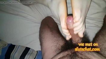 hd foot ddf White wife black guy