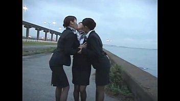 girl on kissed hot train part 1 Black men white girl