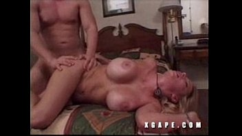 japanese tan blonde Teen submissive with old master