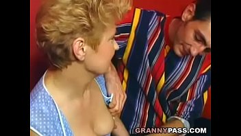 granny boy shy Chubby wife takes 12 inches first time