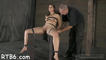 cage torture in chastity O penelope mfc