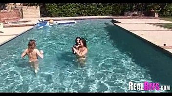 shemale orgy pool swimming Sleeping milf rapped