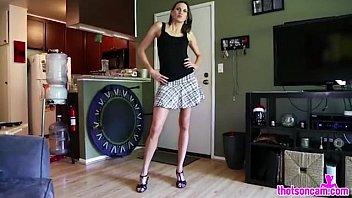 girlfriend lesson sex son sister Teen virgin leggings