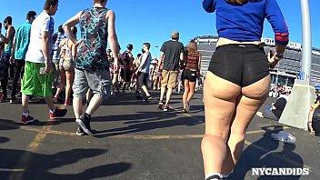 in tent festival fuck Boy caught boner