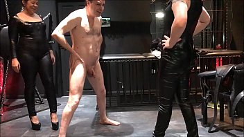 mistresses cruel slave piss poor shit and on two Feet lesbian slave