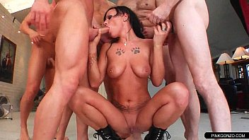 truckers gangbang whore Puppy dog treat
