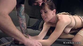 up chair7 tied Cheating wife licking dick