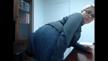 by caught girlfriend masturbating boy Office lady fingered in bys