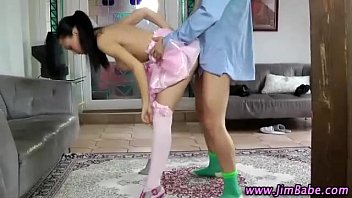 in on schoolgirl pretty petite fucked a stockings desk opaque Arab firstanal skinny