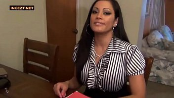 blackmails son mom old Teen sweet anal
