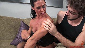 nancy lewis pecs muscular Black on wife hidden