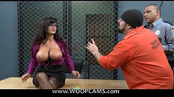 is mother desperate a lisa ann Wife giving a blowjob at home