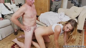 hairy old by man ella troc with Fat pig fucks hot babe again