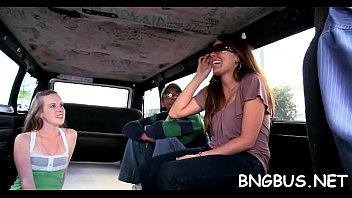 beach miami tour3 bang exxxotica bus Granny car strainger