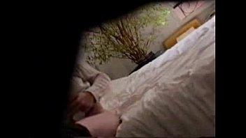 cam hidden masturbating boyfriend Mom seduces son kitchen red robe