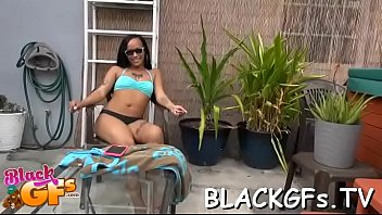 at girls work black Sexy businesswoman double penetration by two men