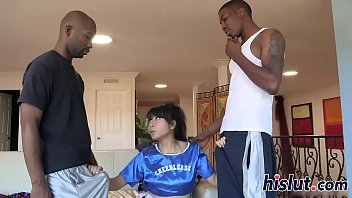 black rimming asian Nephews cock is too big for aunt