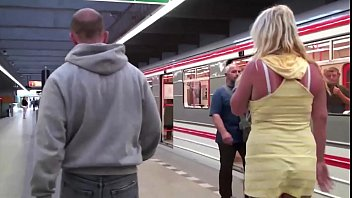 girl big public street with in threesome 2 part tits Actrees sex videos