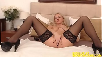 over blond hard and fucked sofa bent the Charlie chase asshole lick