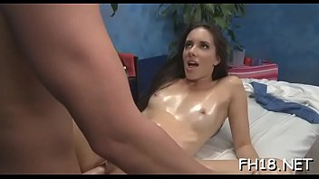 to spitted mouth slapped Teen beata footjob
