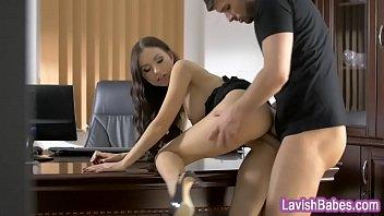 sasha anal rose Asian slut slurpin on chocolate cock