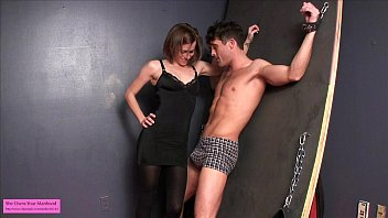 by asian6 ballbusting Biggest peephole stretching