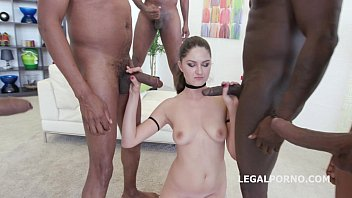 used gang anal tries get to bang tied and brutal away Amateur redbone getting gangbang10