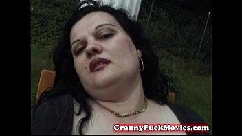 belly granny pics fat Masaje a hija