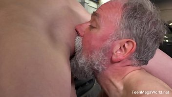 old boy mom young with Fork insertion in pussy