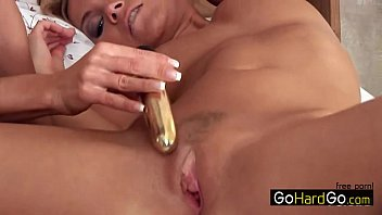 her enjoys hot blonde rachel playing dildo evans with in Fat girl granny swallow cum compilation