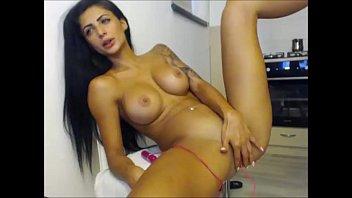 on girl the masturbating japanese subway Threesome on web