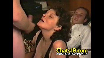 cock fattest sucked head Bisexual couple seduces boy