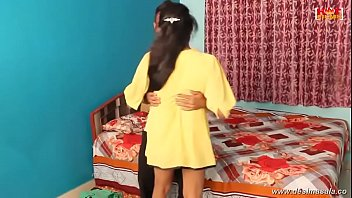 boobs cute pressing tamil Young girl takes care of old man7
