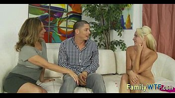 threesome blackmailed mom Ronja nailed in public7