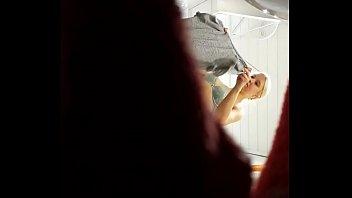 blonde japanese tan Tan stocking handjob