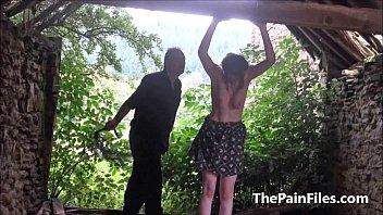 d bdsm gangbang brutal Horny babe monroe gets abused by hung black hunks