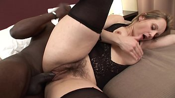 pantyhose bed hump Ebony 18 year old white cock