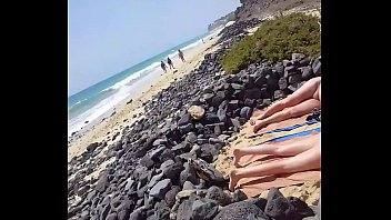 on mutual nude gay beach masturbation Gay rough raw pigs
