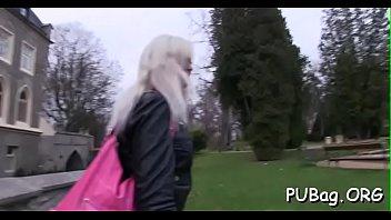 loch public lena german Huge black clocks gang white chick from my