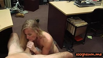 blonde p7 chubby pawn Riding a strap on is so hot